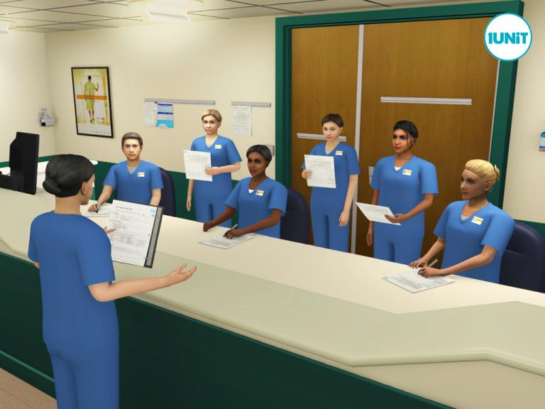 Nurses First Change of Shift Huddle