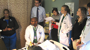 Verdi 5 North pilot project brings the entire care team to the bedside MOBILE