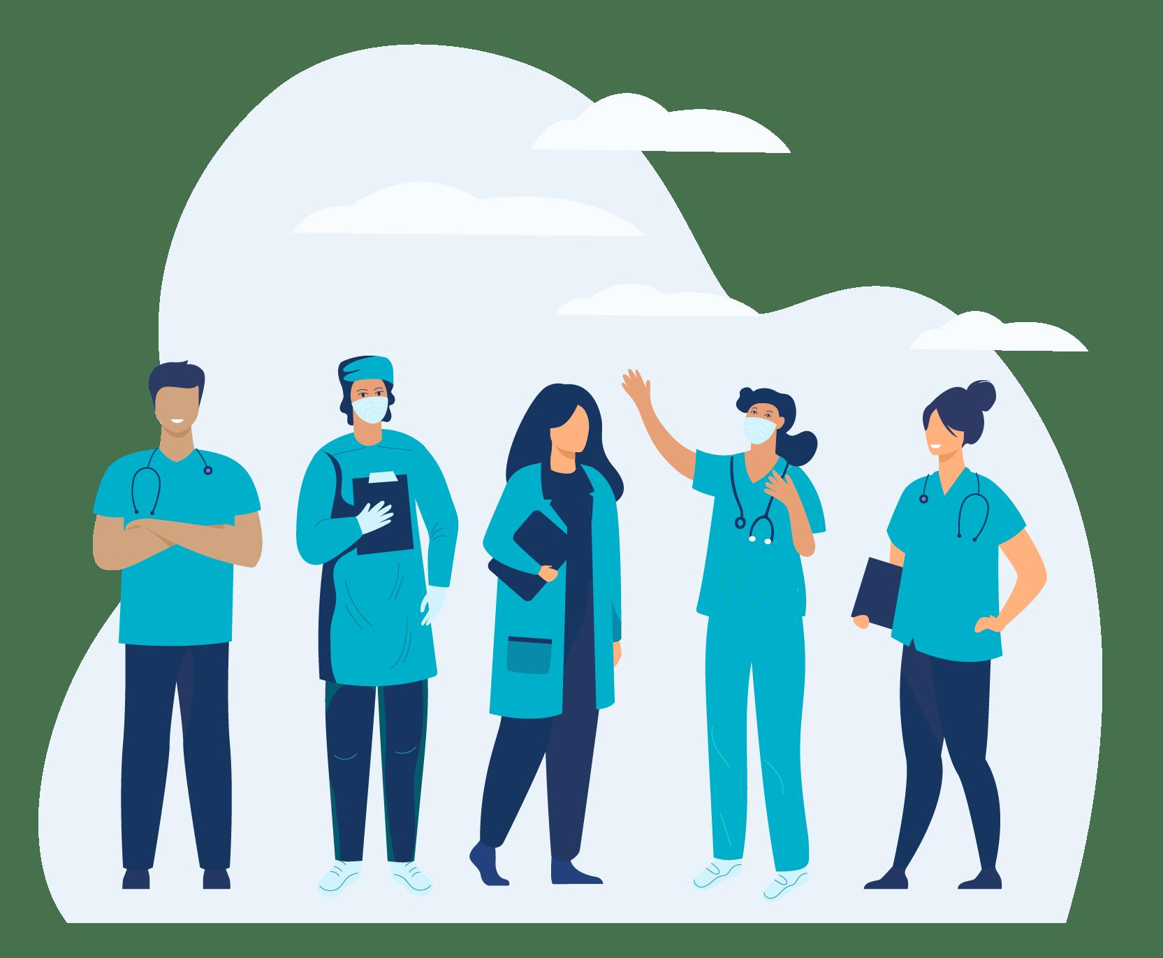 1Unit healthcare team